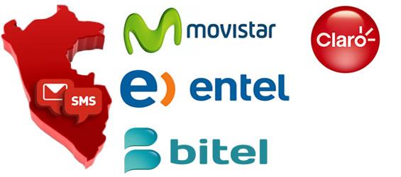 Cobertura a todos los OperadoresSMS Peru